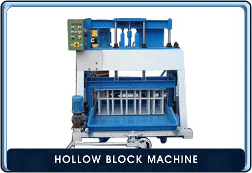 Hollow block machine manufacturer